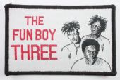 Fun Boy Three - 'Group' Woven Patch